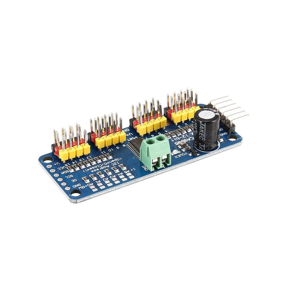 PCA9685 12 bit 16 Channel PWM Servo Motor Driver I2C Module for Arduino Robot