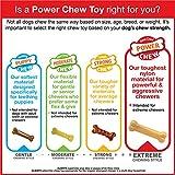 Nylabone Dura Chew Power Chew Textured Bone, Medium Dog Chew Toy, Flavor Chicken