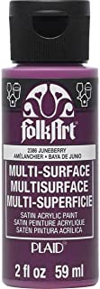 product image for FolkArt Multi Surface Acrylic Paint, 2 oz, Juneberry 2 Fl Oz