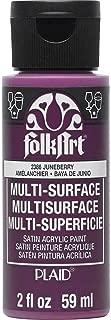 product image for FolkArt Multi Surface Acrylic Paint, 2 oz, Juneberry 2 Fl Oz