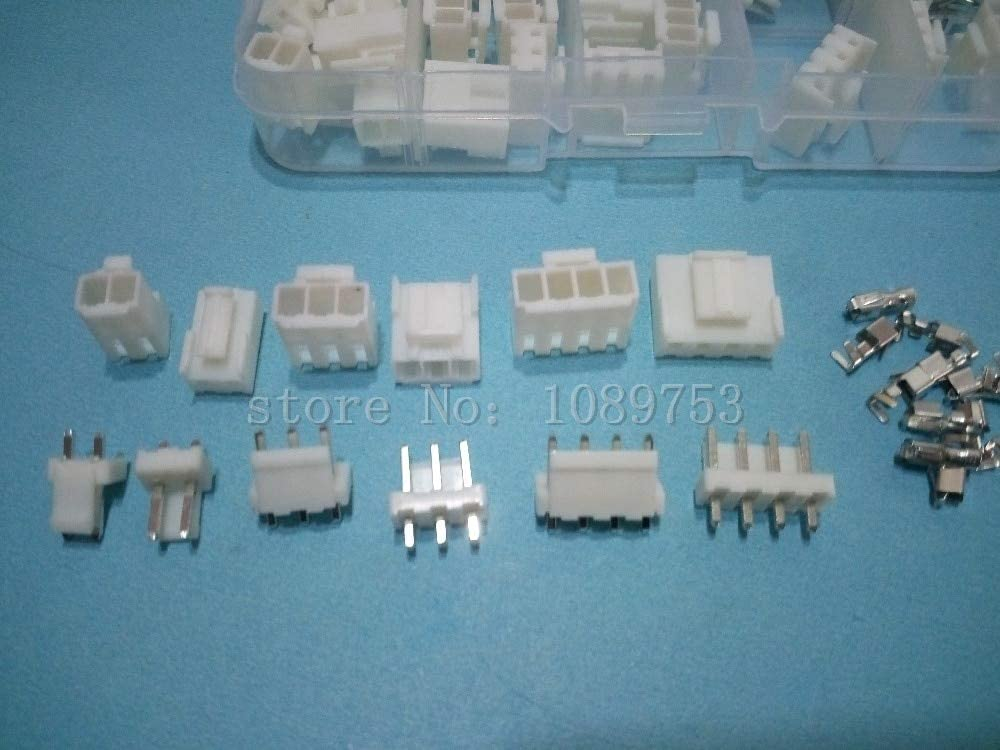 handy and friendly 25 sets 2p 3p 4 pin VH 3.96mm Pitch Terminal Housing Pin Header terminal Connector with box connector
