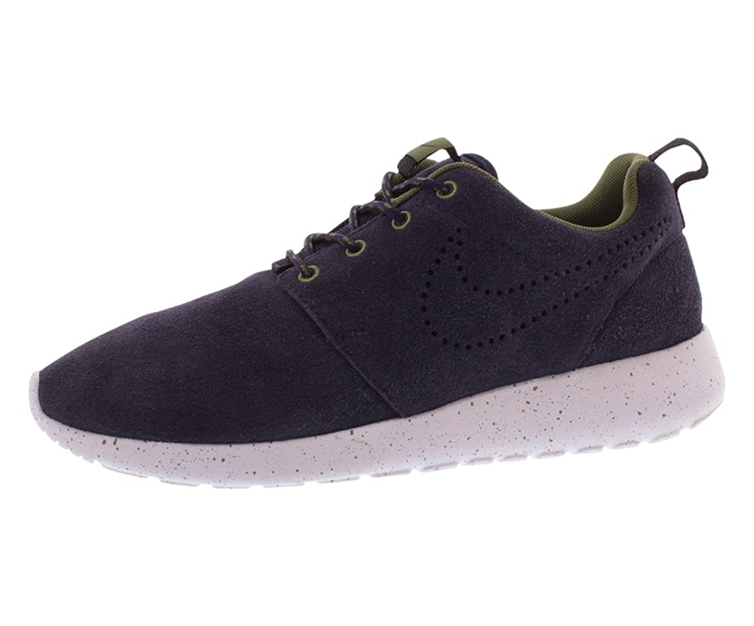 buy online b55cd 7e98c Nike Roshe Run Suede Purple Dynasty Women's Running Shoes Size 10