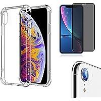 Kit Capa iPhone XR (6.1), Película 9D Privacidade e Película de Câmera - (C7COMPANY)