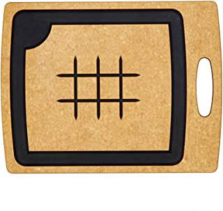 product image for Epicurean Carving Series Cutting Board, 14.5-Inch by 11.25-Inch, Natural/Slate