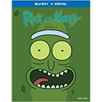 Rick & Morty: The Complete Third Season [Blu-ray]
