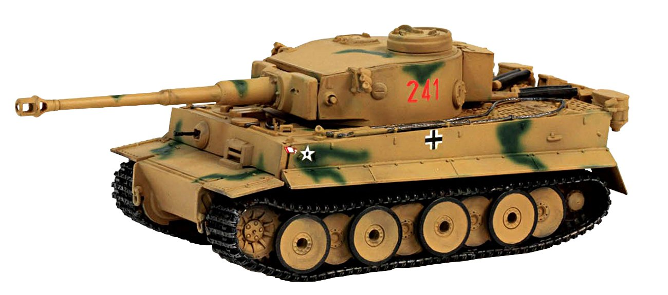 Dragon Models 1/72 Sd.Kfz.181 Tiger I Early Production 2/s.Pz.ABT.504 Sicily 1943 Dragon Armor Collectables