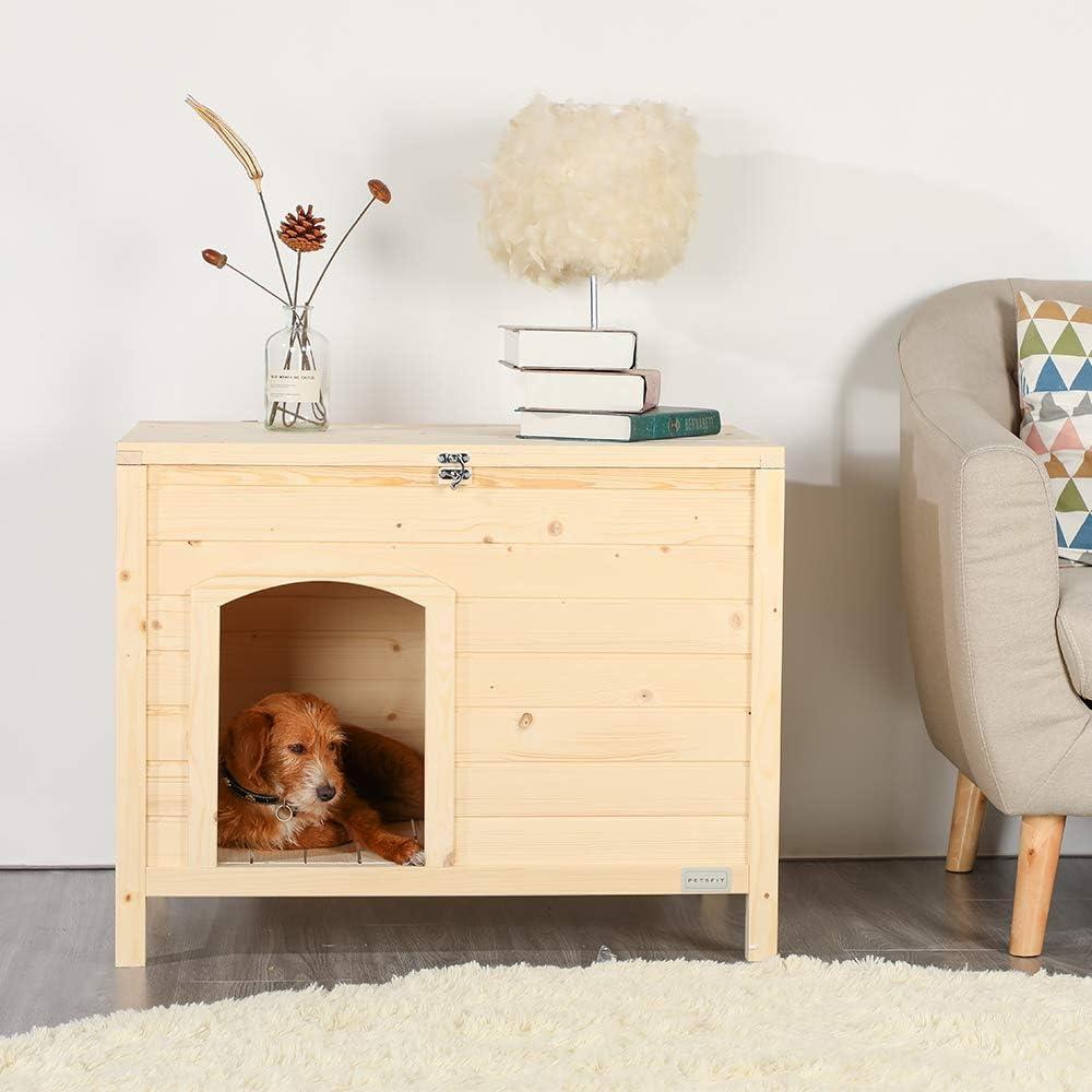 Ein Hundebox Schrank ist eine Hundehütte fürs Wohnzimmer