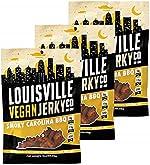 Louisville Vegan Jerky - Smoky Carolina BBQ, Vegetarian & Vegan-Friendly Jerky,