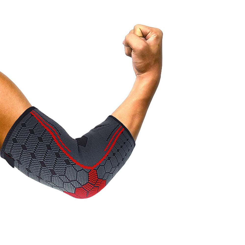 Elbow Brace Compression Elbow Sleeve Tennis Elbow Support Sports Weightlifting Basketball Golf Tennis Reduce Elbow Swelling Arthritis Tendonitis Relief Elbow Brace for Men Women Black S