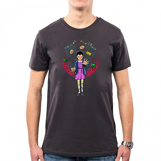 PacDesign Camiseta Hombre The Experiment Eleven 11 Undici Stranger Things Vt0041a: Amazon.es: Ropa y accesorios