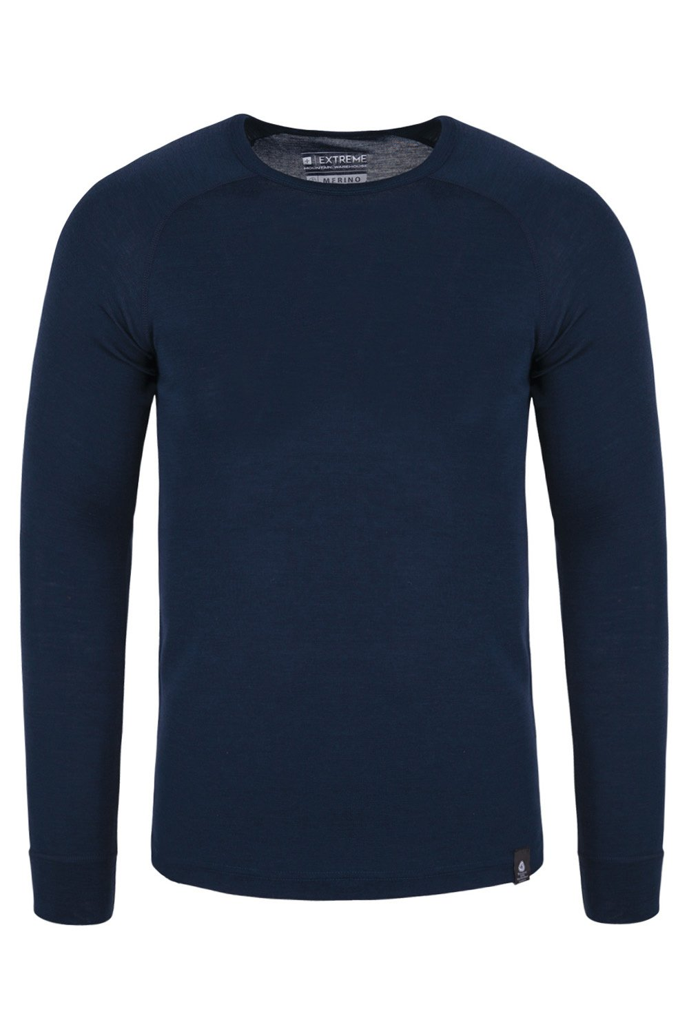 Mountain Warehouse Merino Mens Baselayer Top - Fast Dry T-Shirt