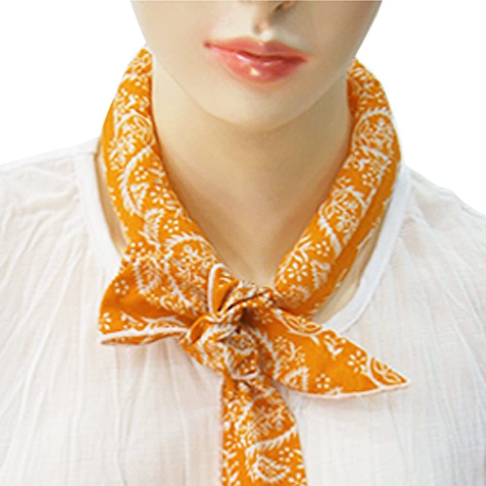 The Elixir Cooling Scarf Chilling Sports Scarf/Headband/Neck Wrap, Cotton Polar Reusable Ice Scarf