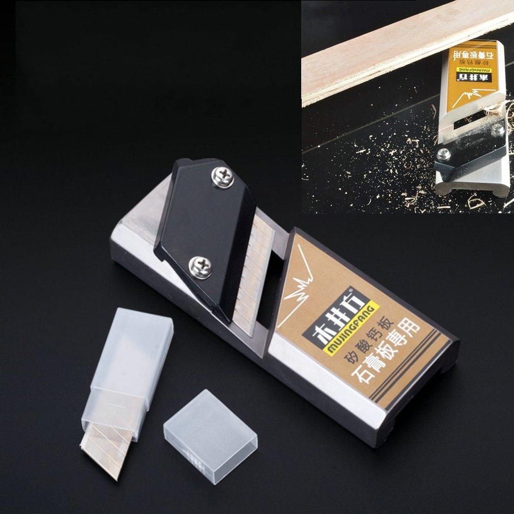 1Set Dedicated Plaster Board Edge Corner Plane Gypsum Board Planer Planing Tool