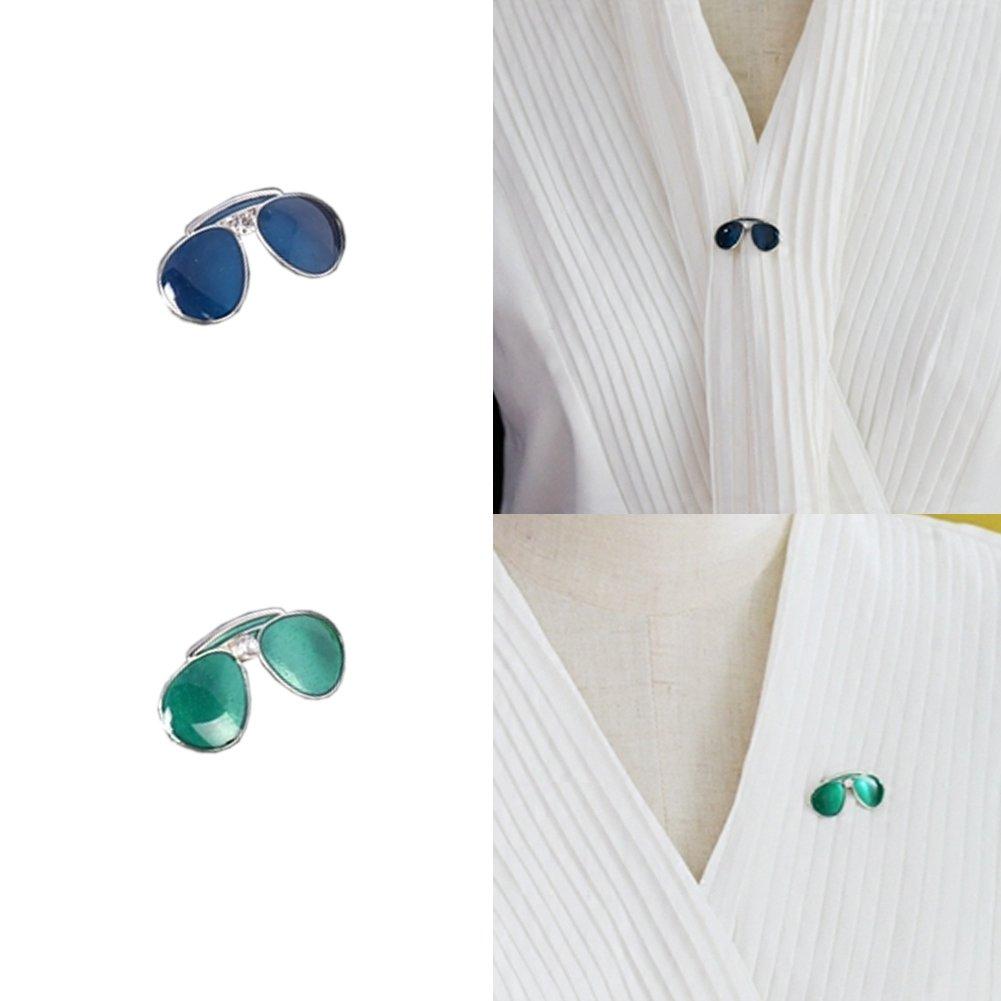 Amazon.com: joyci 2Piece Mini Broche Pin de chaqueta de ...