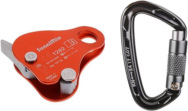Agarre de Cuerda Protecta + Mosquetón Autoblocante para ...