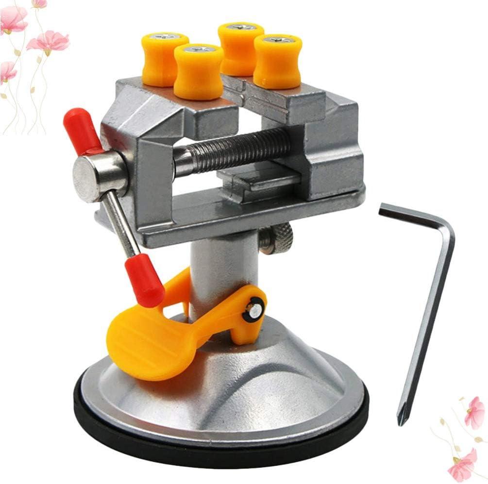 Ventouse Miniature Outil de Sculpture Nucl/éaire /Étau de Banc Mini Pince de Table Petit /Étau /Étau D/établi Portable ULTECHNOVO Mini /Étau /à Poign/ée Daspiration