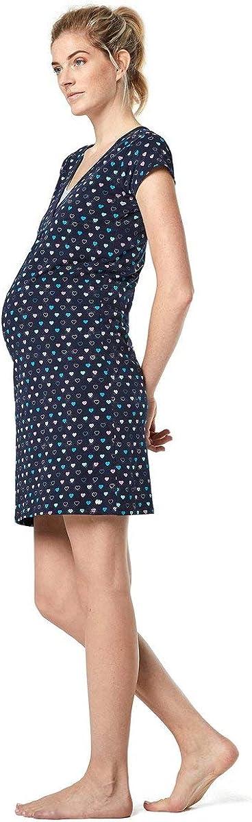 ESPRIT Maternity Jersey-Nachthemd mit Stillfunktion