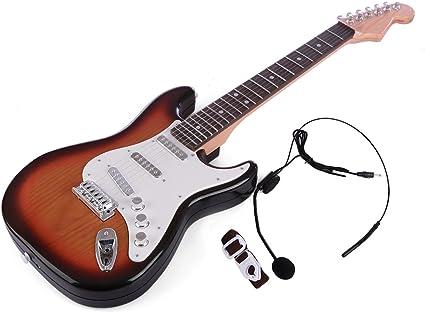 Tosbess Guitarra Electrica Juguete, Juguete de Guitarra Ukelele ...