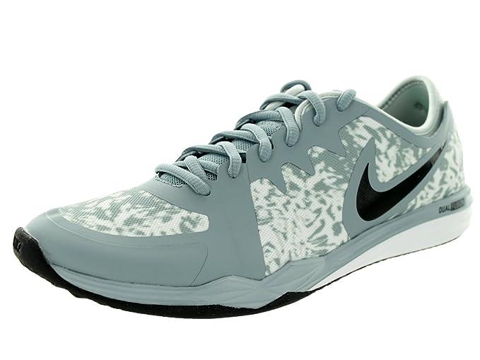 Nike W Dual Fusion TR 3 Print, Zapatillas de Gimnasia para Mujer, Gris (Dove Grey/Black-Gry Mist-White), 41 EU: Amazon.es: Ropa y accesorios