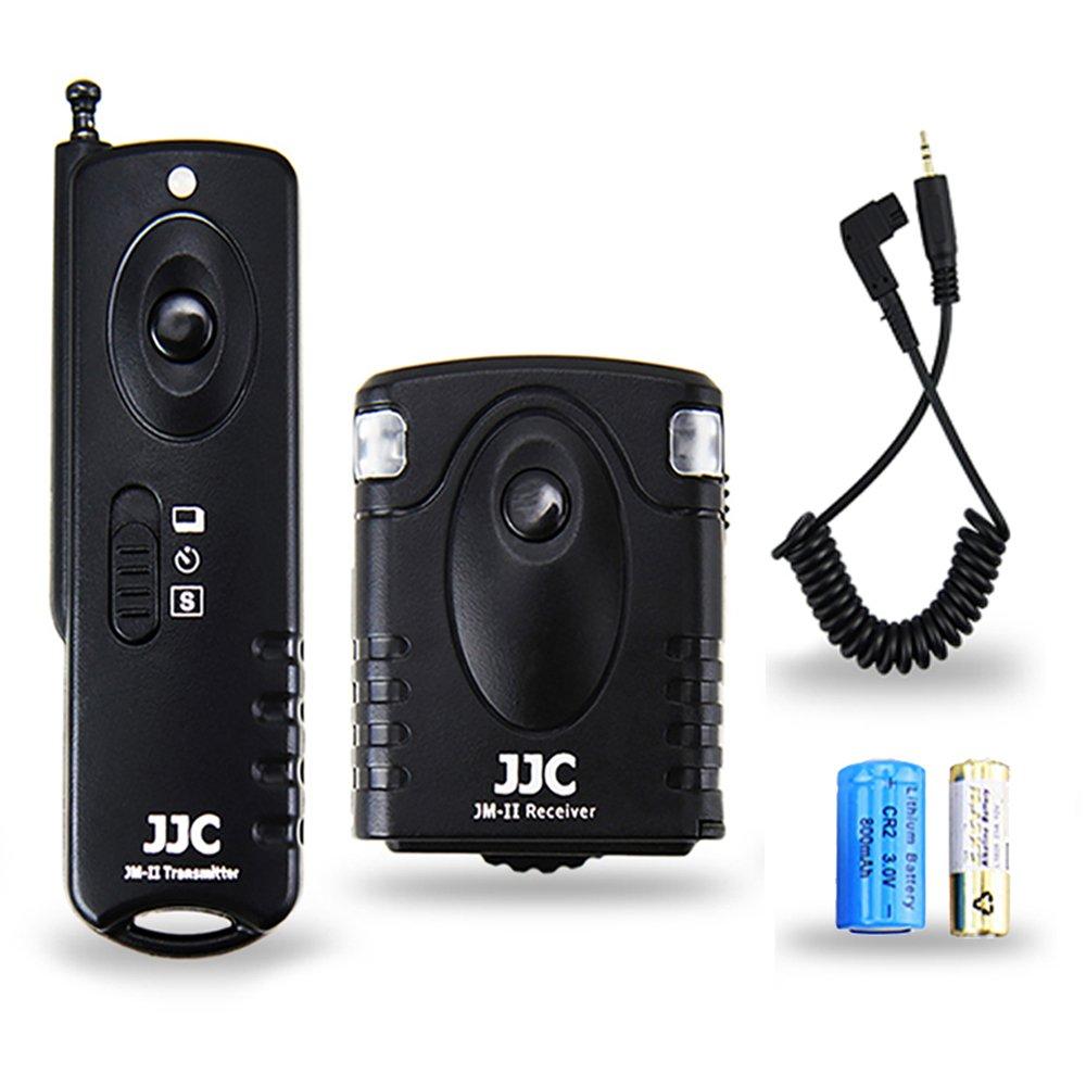 Wireless Shutter Remote Control JJC Remote Shutter Release Controller for Sony A6500 A6300 A6000 A5100 A5000 A3500 A58 A9 A7 III A7 II A7R II A7S II A7R III A7M2K NEX-3NL HX400 RX10 RX100II