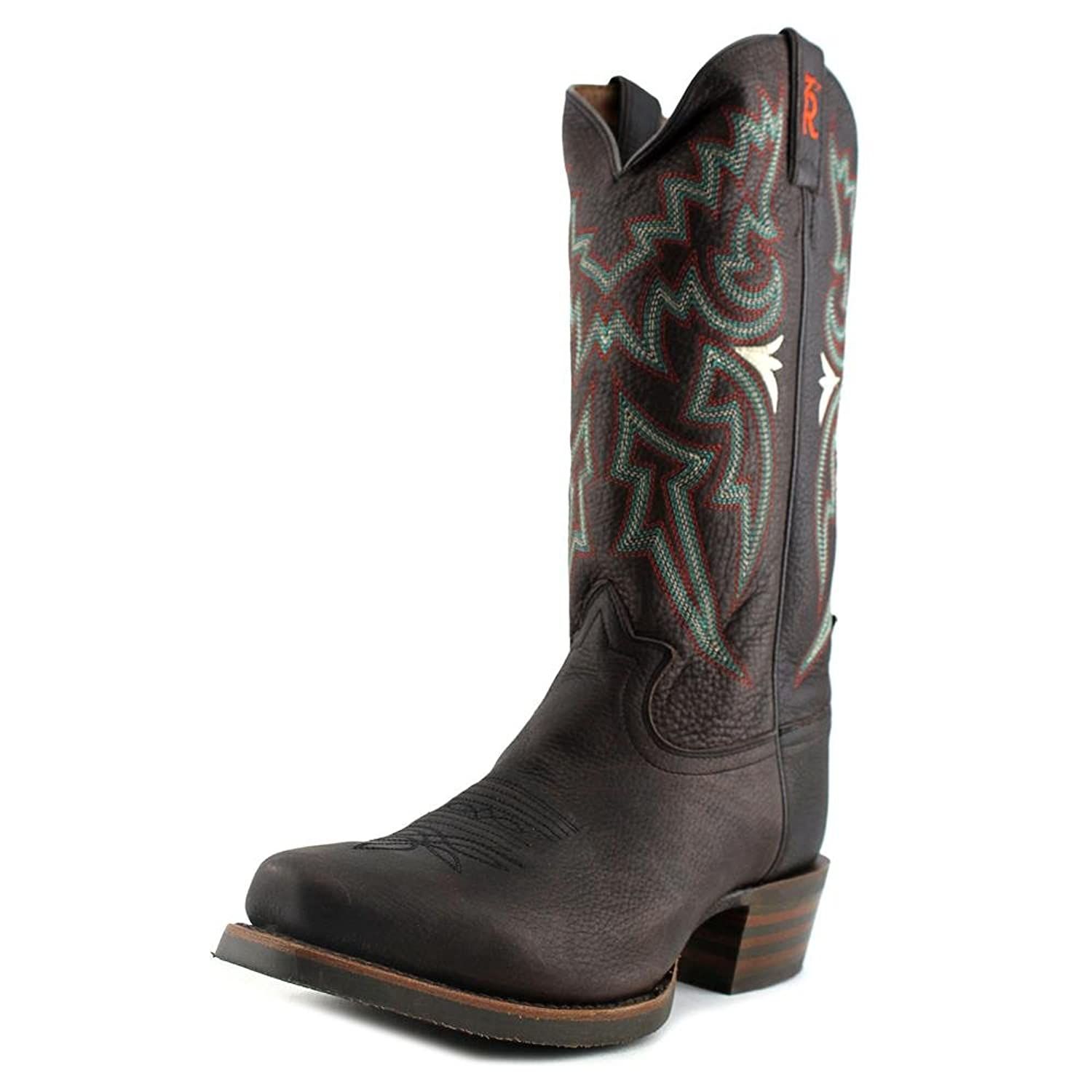 Amazon.com | Tony Lama Mens Chocolate Frio 3R Snip Toe Cowboy Boots | Boots