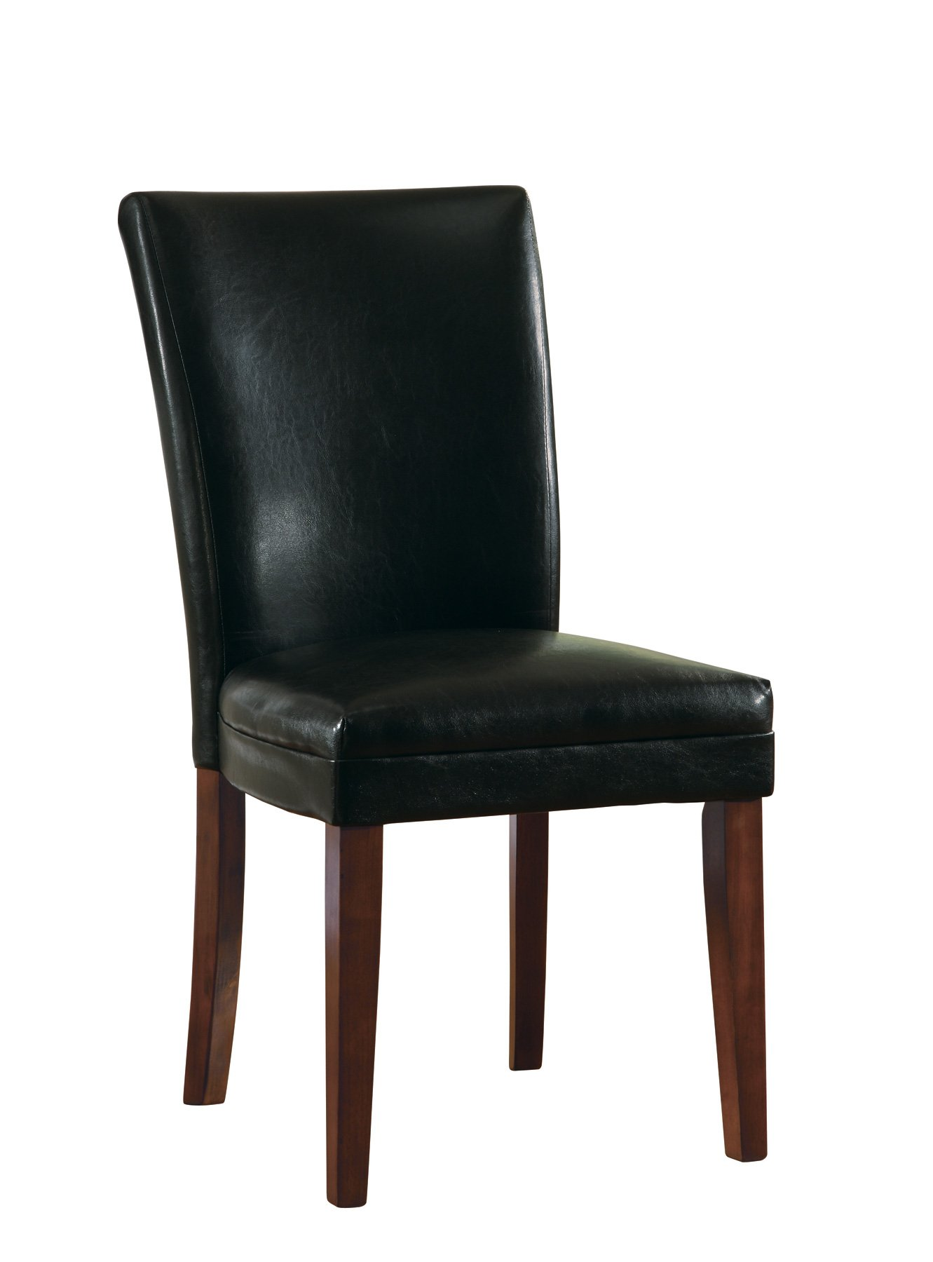 Coaster Home Furnishings Casual Dining Chair, Cherry/Black, Set of 2