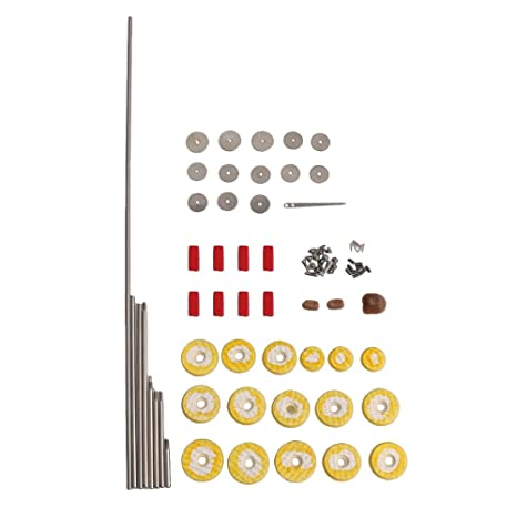 Piezas de reparación de flauta Kit de mantenimiento de herramientas Tornillos + 16 unids Agujero abierto