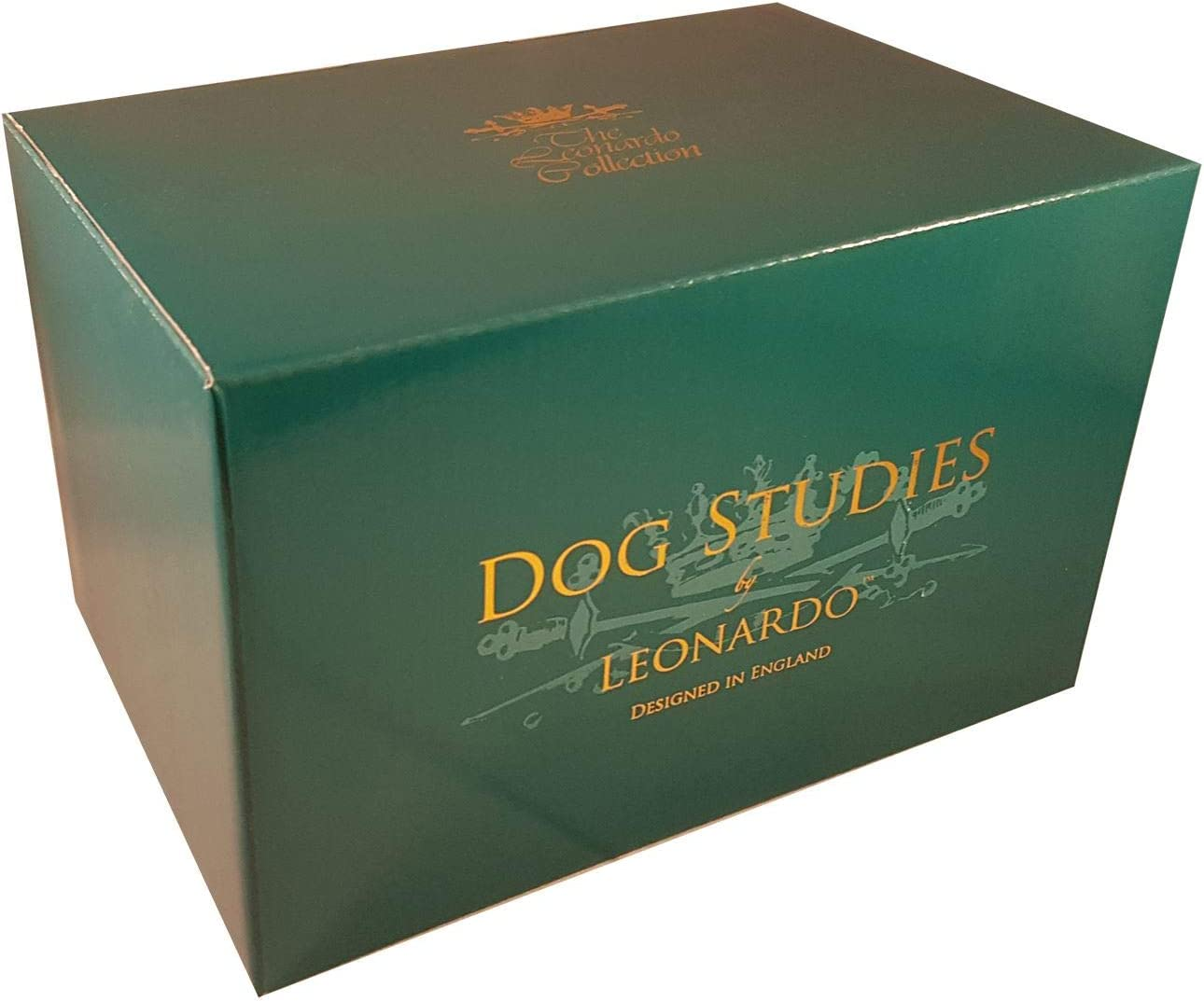 Figura decorativa de perro realista The Leonardo Collection British Bulldog