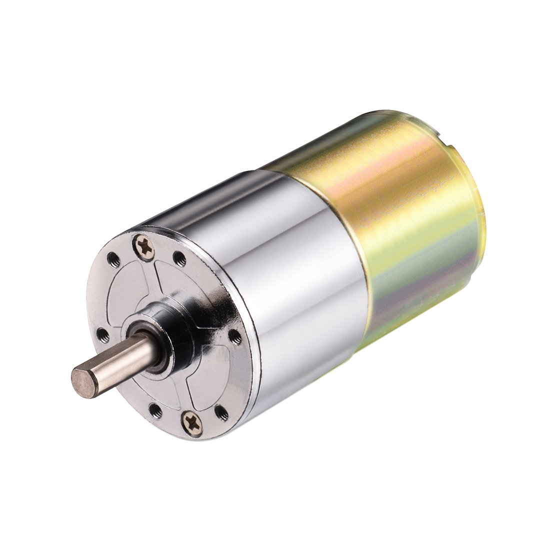 uxcell 12V DC 200RPM Gear Motor High Torque Electric Micro Speed Reduction Geared Motor Centric Output Shaft