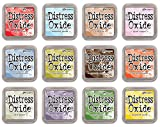 Ranger Tim Holtz Distress Oxide Ink Summer 2018-12 Ink Pad Bundle