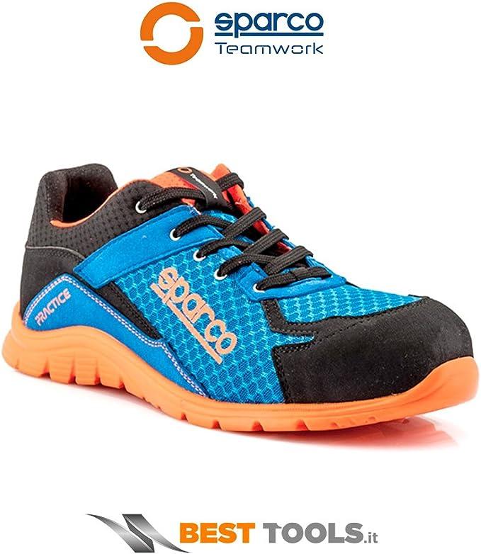 SPARCO S0751742AZAF Pratique Chaussures Bleu//Orange Sz