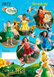 Simplicity Sewing Pattern 2872 Child Costumes, A (3-4-5-6-7-8)