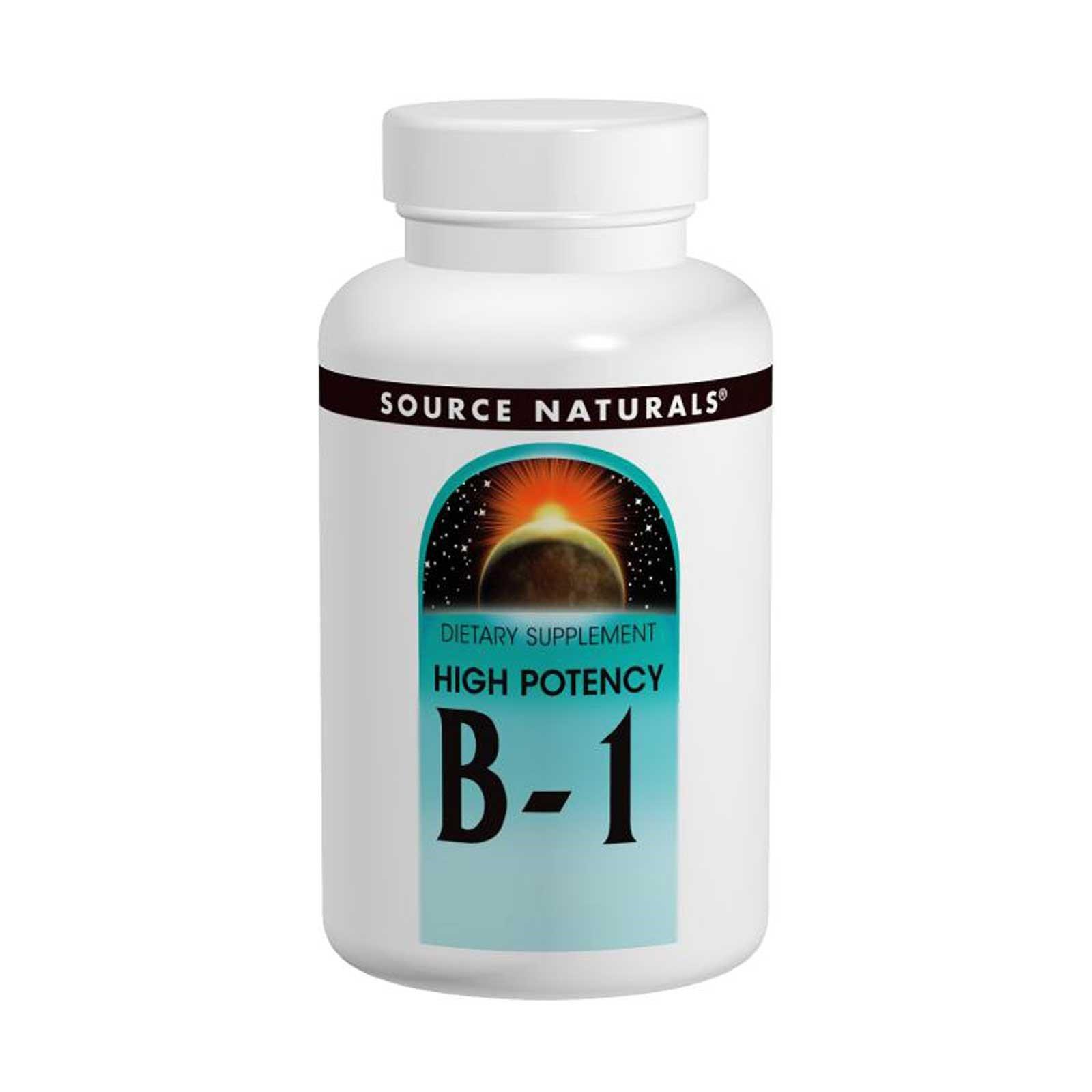 High Potency Vitamin B-1 500 Milligrams 100 Tabs