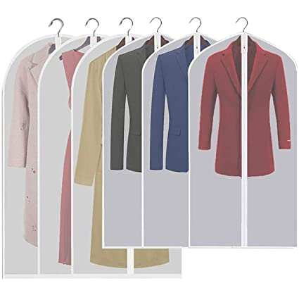 927cdca5697 Image Unavailable. Image not available for. Color  Fezicow Garment Bag for Clothing  Storage ...