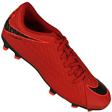 2c0ad5224c8 Nike Men s Hypervenom Phade Iii Fg Unred Black Football Boots-7 UK India