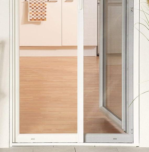 Mosquitero para Puerta – Estor (aluminio montar 160 x 220 cm en blanco: Amazon.es: Hogar