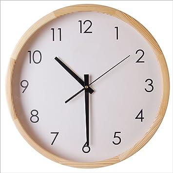 "GAOMY Moda Árabe Digital Silencioso Silencioso Montado En La Pared Relojes Desmontables Extraíble Reloj (12"""