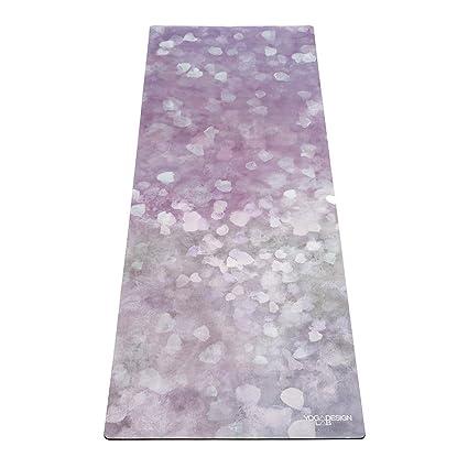 Yoga Design Lab La Esterilla de Yoga Combo 3.5mm. Dos en Uno | Antideslizante | Acolchada | Ecológica | Lavable a la Máquina
