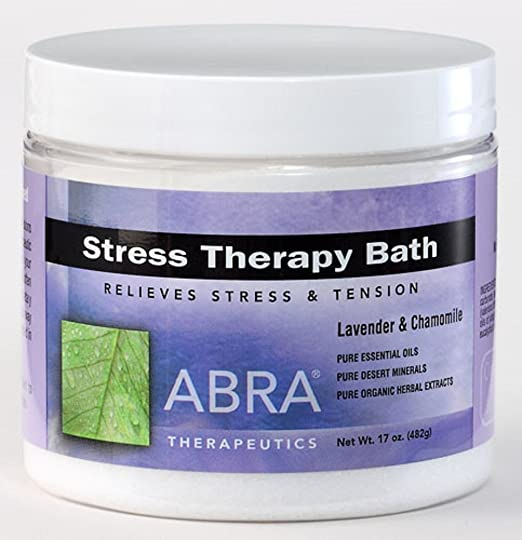 Abra Stress Therapy Sea Salt Bath, Lavender & Chamomile