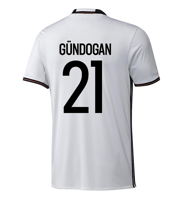 Adidas GUNDOGAN #21 Germany Home Soccer Jersey Euro 2016 YOUTH/サッカーユニフォーム ドイツ ホーム用 ギュンドアン 背番号21 Euro 2016 ジュニア向け B01B3E5ISK Y-Medium, 湘南ワインセラー d2e3474c