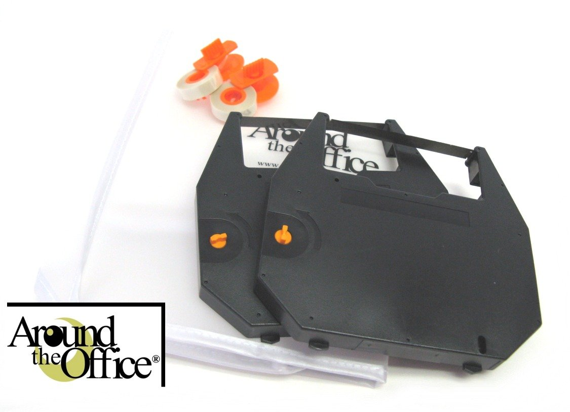 Around The Office Compatible Olympia Typewriter Ribbon & Correction Tape for Olympia Mastertype 3.This Package Includes 2 Typewriter Ribbons and 2 Lift Off Tapes by Around The Office