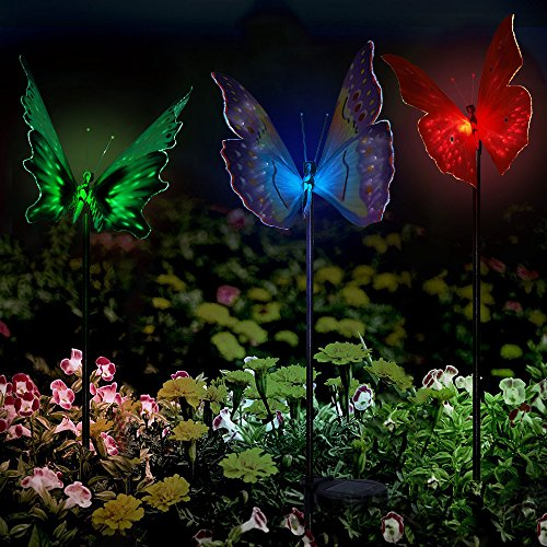 Solar Powered Lights Solarmks Solar Lights Outdoor Multi Color Changing Led Garden Solar Stake