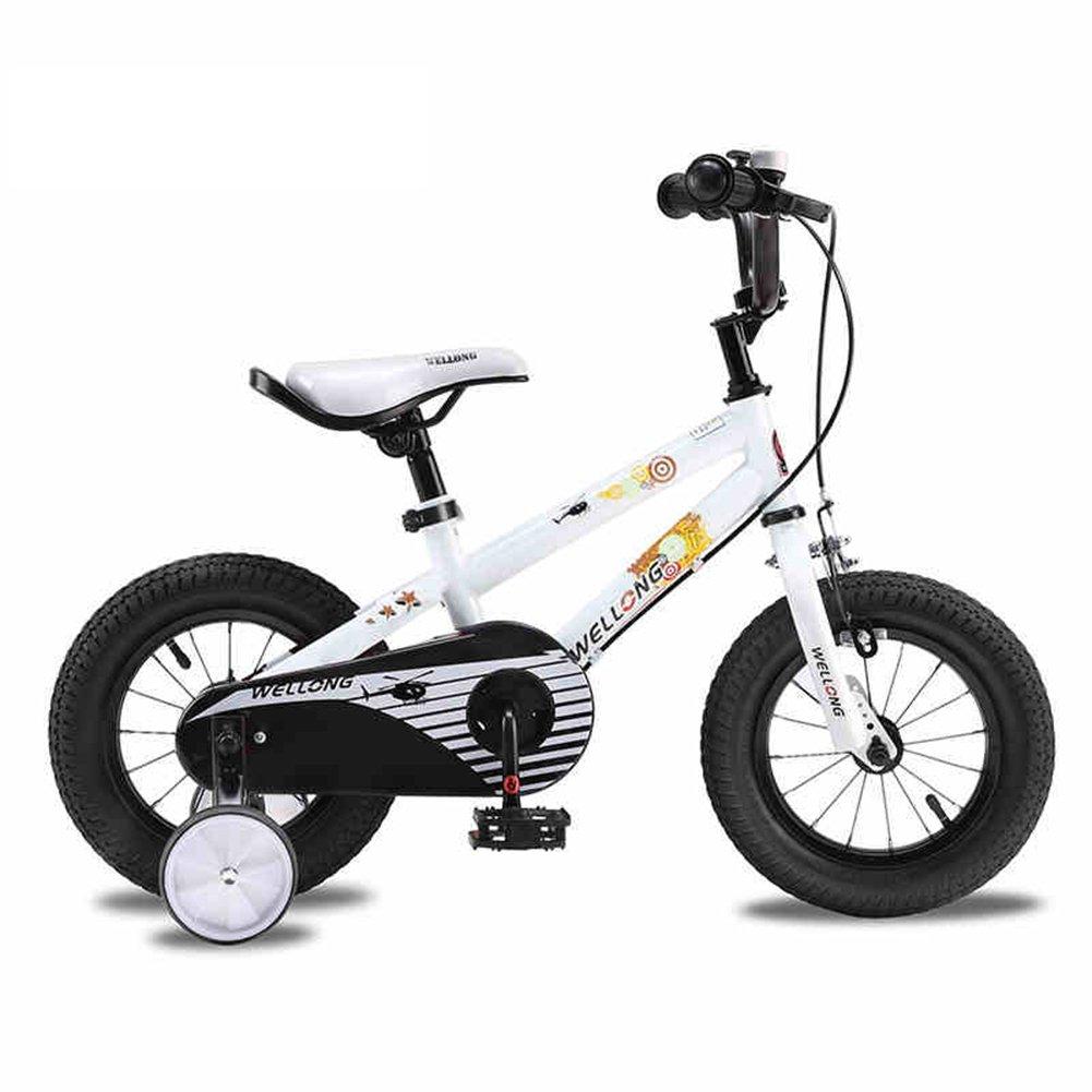 XQ 子供12歳の自転車の自転車の男の子の赤ちゃんのキャリッジの生徒2-6歳の自転車 子ども用自転車 ( 色 : 白 ) B07CGCMNH9白