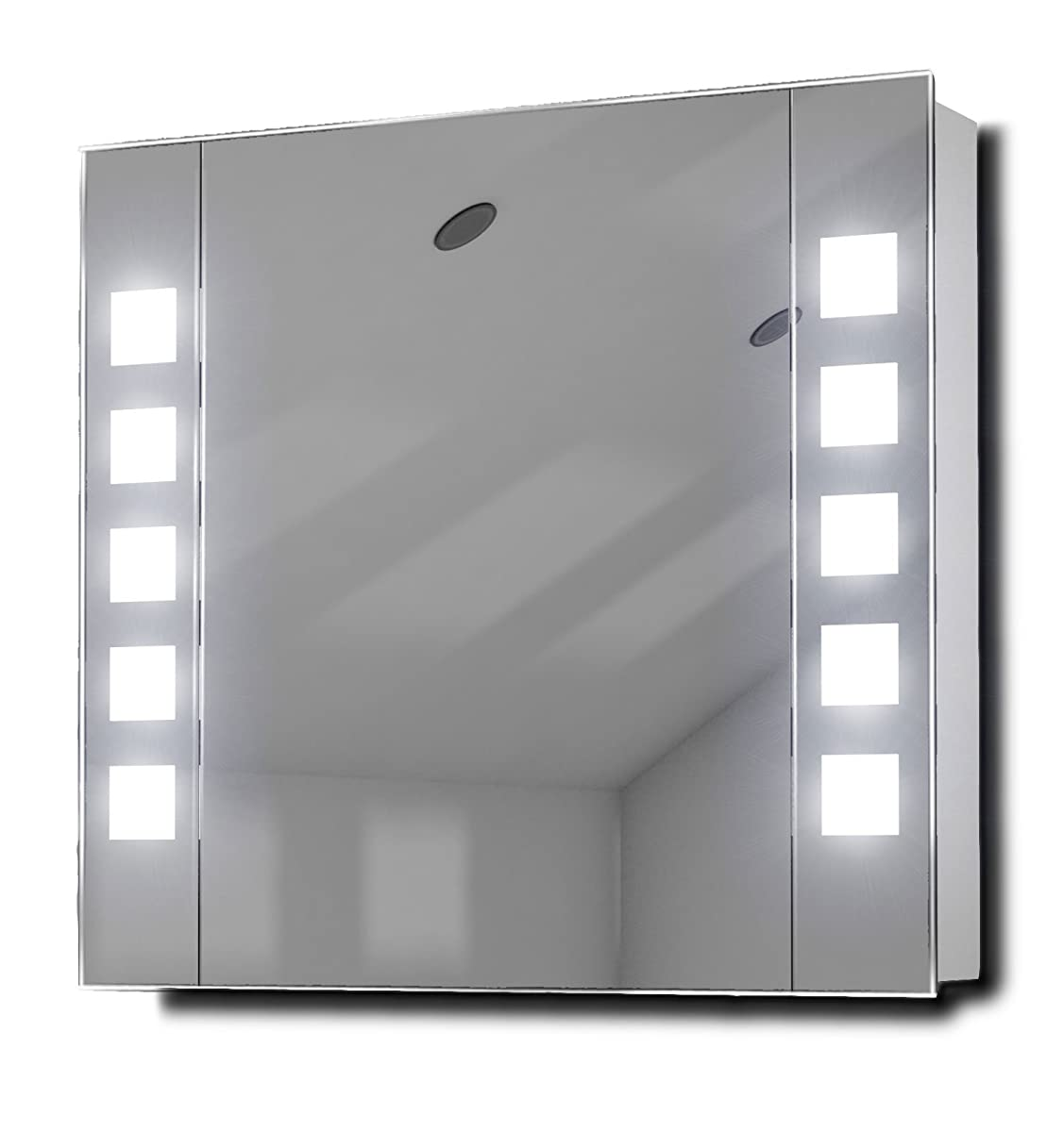 Noble LED Illuminated Bathroom Mirror Cabinet With Sensor & Shaver k16