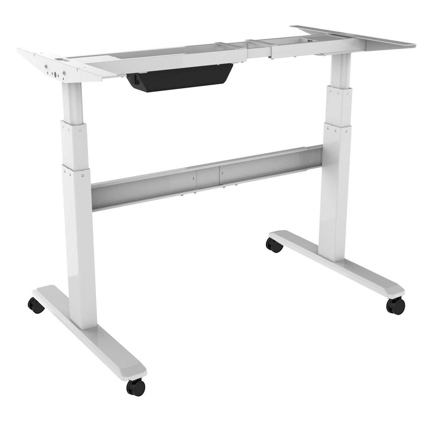 Fine Electric Stand Up Desk Frame Only Dual Motor Height Download Free Architecture Designs Grimeyleaguecom