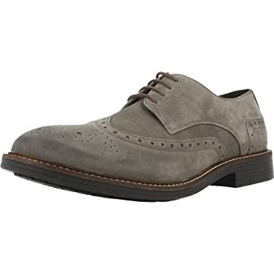 Lumberjack NELSON Gris - Chaussures Derbies Homme