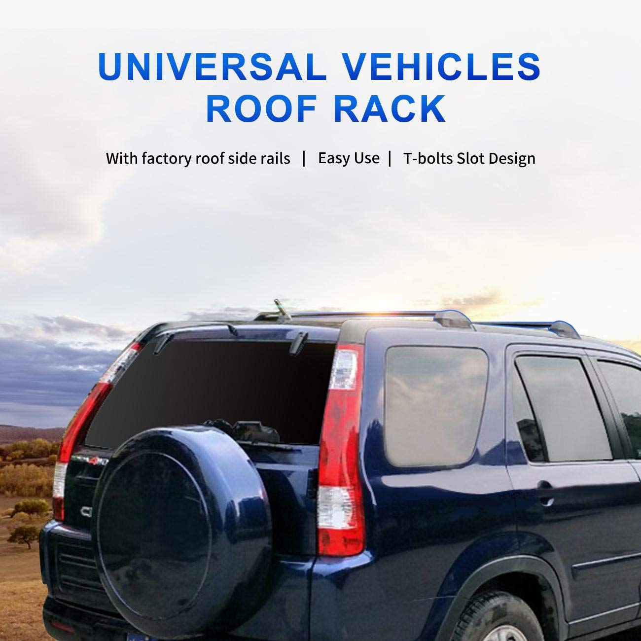 Side Rails Needed ALAVENTE Roof Rack Crossbars Compatible for Honda Odyssey 2011-2017 Cross Bars Roof Rail Luggage Carrier