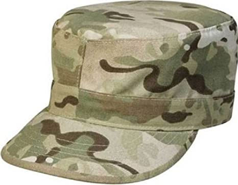 Amazon.com  Camouflage Poly Cotton Rip-Stop Army Ranger Fatigue Hat ... 2e414a6b437