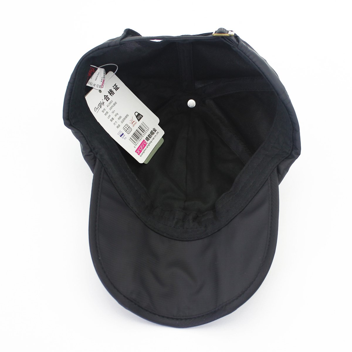 outfly Foldable Baseball Cap Summer Running Cap for Men and Women Gift Hat Storage Bag