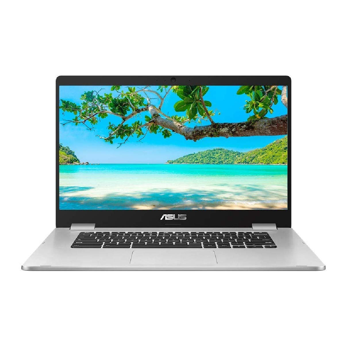 ASUS 15.6 Inch Touchscreen ChromeBook C523NA Full HD Laptop (Intel Pentium N4200 Processor, 4 GB RAM, 64GB eMMC, Chrome OS, Full HD Touchscreen)